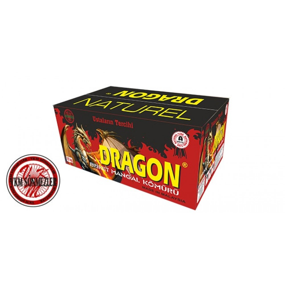 Dragon - Pres Mangal Kömürü - 10 Kg. Koli - B Kalite